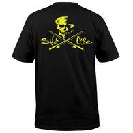 Salt Life Men's Skull & Poles Pocket Short-Sleeve T-Shirt