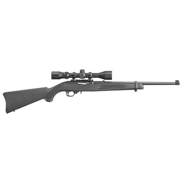 Ruger 10/22 Carbine Synthetic 22 LR 18.5 10-Round Rifle Combo