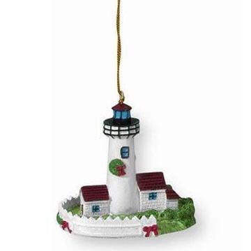 Cape Shore Maine Lighthouse Ornament