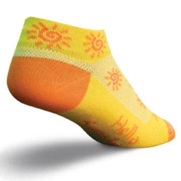 SockGuy Womens Sunshine Bicycling Sock