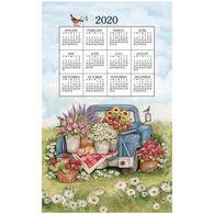 Kay Dee Designs 2020 Flower Truck Calendar Towel