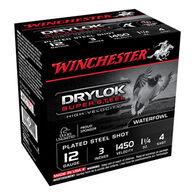 "Winchester DryLok Super Steel 12 GA 3"" 1-1/4 oz. #4 Shotshell Ammo (25)"