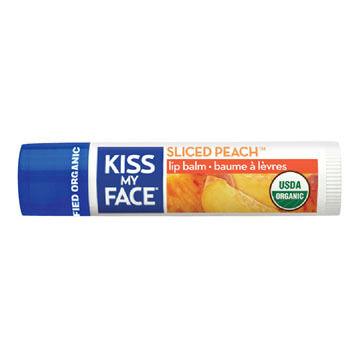 Kiss My Face Organic Sliced Peach Lip Balm
