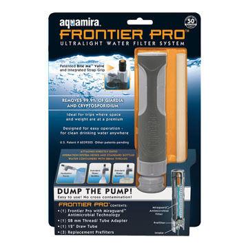 Aquamira Frontier Pro Filter