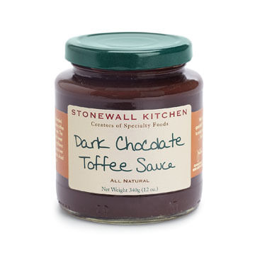 Stonewall Kitchen Dark Chocolate Toffee Sauce, 12 oz.