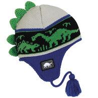 Turtle Fur Boy's Dr. Dino Earflap Hat