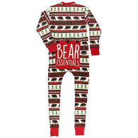 Lazy One Men's Bear Essentials Onesie Flap Jack Pajamas