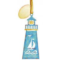 Cape Shore Lighthouse Metal Ornament