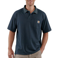 Carhartt Men's Big & Tall Contractor's Work Pocket Polo Short-Sleeve Shirt