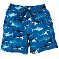 Hatley Boys' Great White Sharks Swim Trunk
