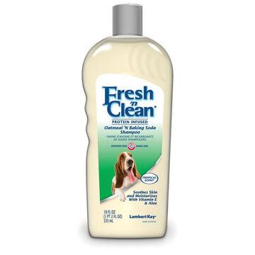 Lambert Kay Fresh n Clean Oatmeal Baking Soda Dog Shampoo - 18 oz.