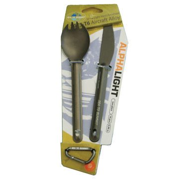 Sea to Summit AlphaLight Spork & Knife Set