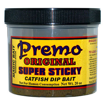 Magic Bait Premo Super Sticky Catfish Dip Bait - 20 oz.