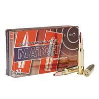 Hornady Superformance Match 308 Winchester 168 Grain ELD Match Rifle Ammo (20)