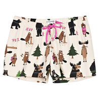 Hatley Little Blue House Women's Bear Hug Boxer