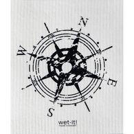 Wet-it! Swedish Cloth - Compass Black