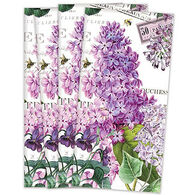 Michel Design Works Lilac And Violets Fabric Hostess Napkin