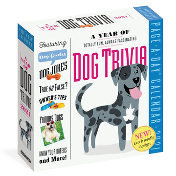 A Year of Dog Trivia 2021 Page-A-Day Calendar by Workman Publishing