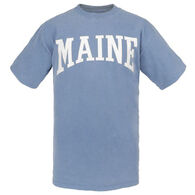 Cape Cod Textile Men's Maine Arch Design Short-Sleeve T-Shirt