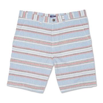 johnnie-O Mens Ebb Tide Horizontal Striped Short