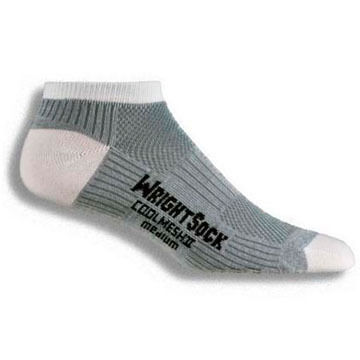 WrightSock Men's Cool Mesh II Low Quarter Sock