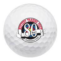 Srixon Soft Feel KTP 80th Logo Golf Ball