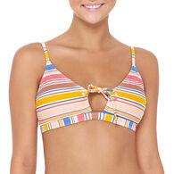 Hot Water Women's Island In The Sun Bralette Swimsuit Top