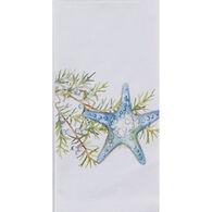 Kay Dee Designs Ocean Tide Starfish Krinkle Flour Sack Towel