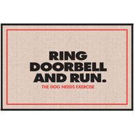 High Cotton Doormat - Ring Doorbell and Run
