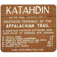 Appalachian Trail Katahdin Sign Magnet