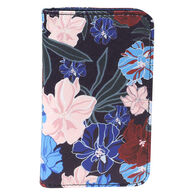 Buxton Women's Seamless Floral Snap Card Case
