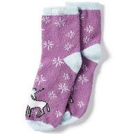 Life is Good Women's Unicorn Magic Plush Snuggle Sock