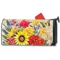 MailWraps Botanical Garden Magnetic Mailbox Cover