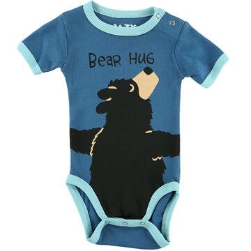 Lazy One Infant Boys Bear Hug Creeper