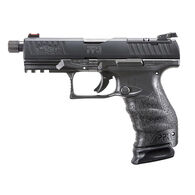 "Walther PPQ Q4 TAC 9mm 4.6"" 17-Round Pistol"
