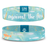 Unselfie Women's Go Against The Flow Pattern Wrist Band