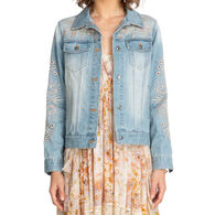 Johnny Was Women's Iva Denim Jacket