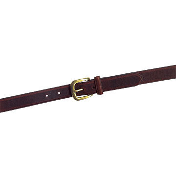 Lavin Men's Oil-Tanned Plain Leather Belt