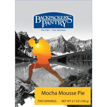 Backpackers Pantry Mocha Mousse Pie - 2 Servings