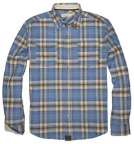 Dakota Grizzly Men's Riley Western Flannel Long-Sleeve Shirt