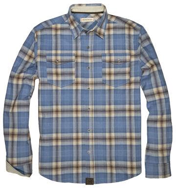 Dakota Grizzly Mens Riley Western Flannel Long-Sleeve Shirt