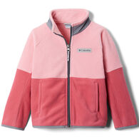 Columbia Toddler Basin Trail Branded Full Zip Fleece Jacket