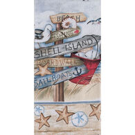 Kay Dee Designs Beach Signs Terry Towel