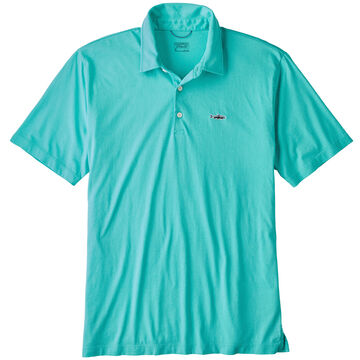 Patagonia Mens Fitz Roy Trout Polo Short-Sleeve Shirt