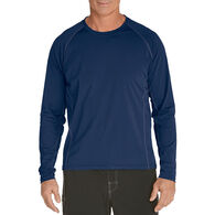 Coolibar Men's UPF 50+ Long-Sleeve Swim Shirt