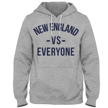 Boston Sports Apparel Mens New England VS Everyone Hooded Sweatshirt