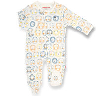Magnetic Me Infant Mane Event Organic Cotton Magnetic Footie Pajama