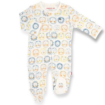 Magnetic Me Infant Mane Event Organic Cotton Magnetic Footie Pajama