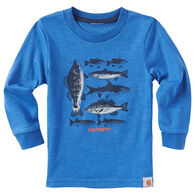 Carhartt Infant/Toddler Boys' Multi Fish Long-Sleeve T-Shirt