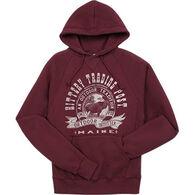 Lakeshirts Men's Kittery Trading Post Moose Hooded Sweatshirt